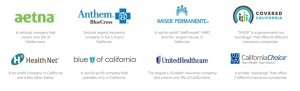 These are the companies that offer medical insurance to small businesses in California